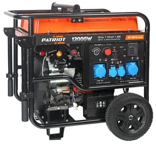 Бензиновый генератор с автозапуском PATRIOT GP 15010ALE 10 кВт