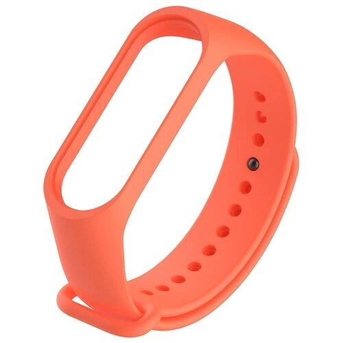 Titan Ремешок силиконовый для Xiaomi Mi Band 3 оранжевый