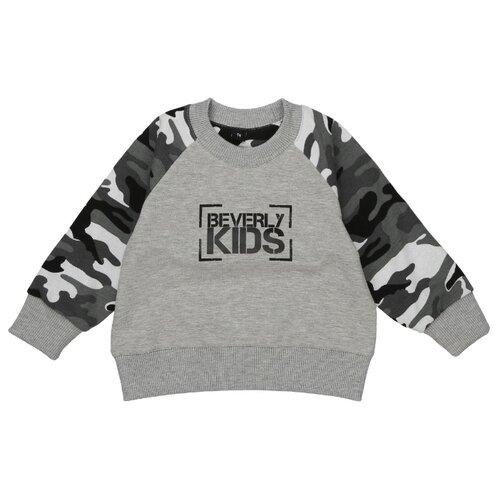 Свитшот BEVERLY KIDS размер 104, grey