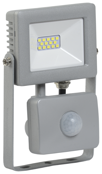 Прожектор светодиодный с датчиком движения 10 Вт IEK СДО 07-10Д (6500К)