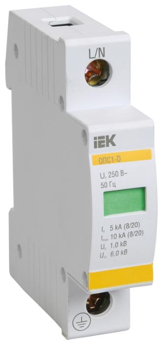 Защита от перенапряжения IEK MOP20-1-D