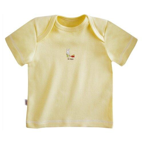 Купить Футболка Наша мама размер 68, желтый, Футболки и рубашки