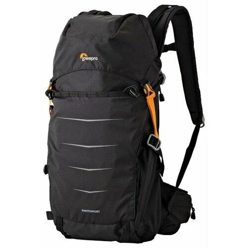Фото - Рюкзак для фотокамеры Lowepro Photo Sport BP 200 AW II черный рюкзак для фотокамеры lowepro flipside 400 aw ii mica pixel camo