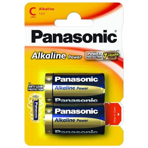 Купить Батарейка Panasonic Alkaline Power C/LR14 2 шт блистер
