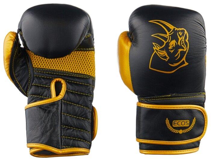 Боксерские перчатки ECOS BG-2574R