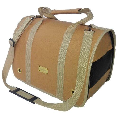 Переноска-сумка для кошек и собак LOORI Z2338 46х28х29 см бежевый переноска сумка для кошек и собак loori z8708 z8746 46х28х29 см розовый