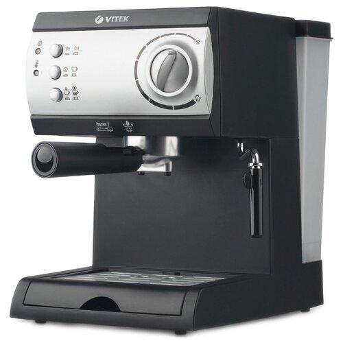цена на Кофеварка рожковая VITEK VT-1511 черный/серебристый