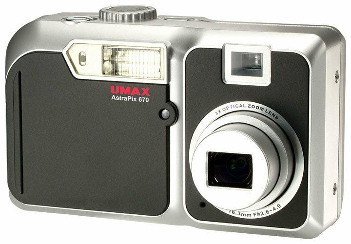 Фотоаппарат Umax AstraPix 670