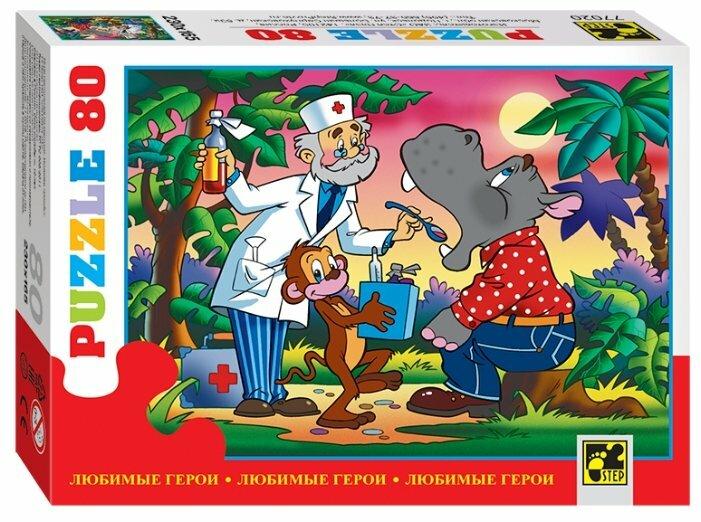 Пазл Step puzzle Любимые герои (77020) в ассортименте, 80 дет.