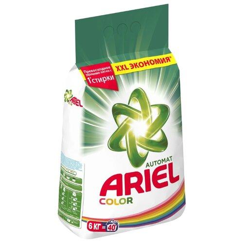 Стиральный порошок Ariel Color (автомат) 6 кг пластиковый пакетСтиральный порошок<br>