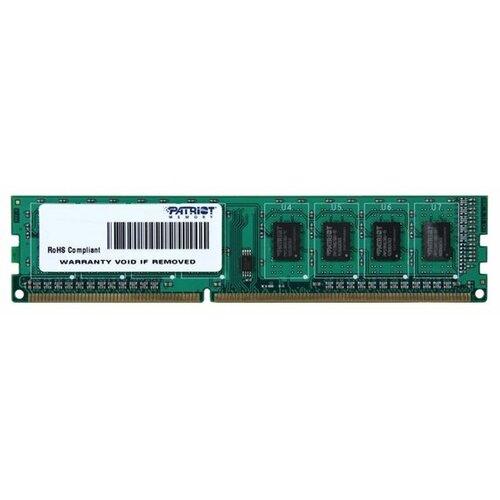 Купить Оперативная память Patriot Memory DDR3 1333 (PC 10600) DIMM 240 pin, 4 ГБ 1 шт. 1.5 В, CL 9, PSD34G133381