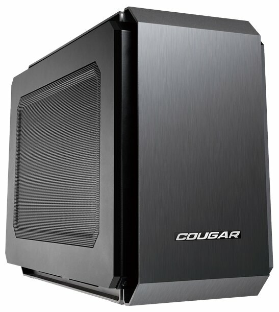 Корпус COUGAR QBX black Mini-ITX