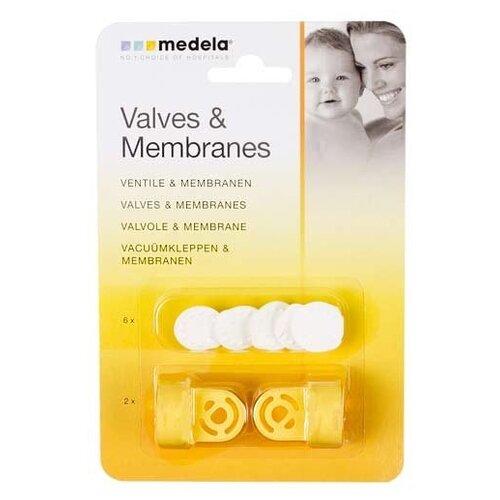Набор для молокоотсоса Medela клапаны и мембраны