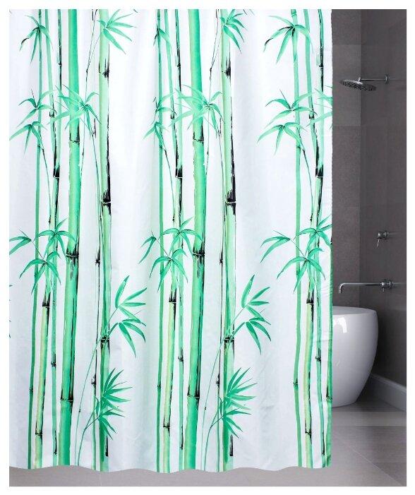 Штора для ванной Bath Plus Bamboo leaf