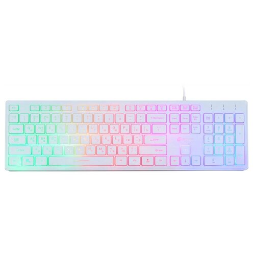 Клавиатура OKLICK 550ML White USB