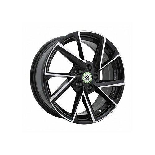 Фото - Колесный диск LegeArtis VW12-S 6.5x16/5x112 D57.1 ET50 BKF колесный диск legeartis sk75 6 5x16 5x112 d57 1 et50 s