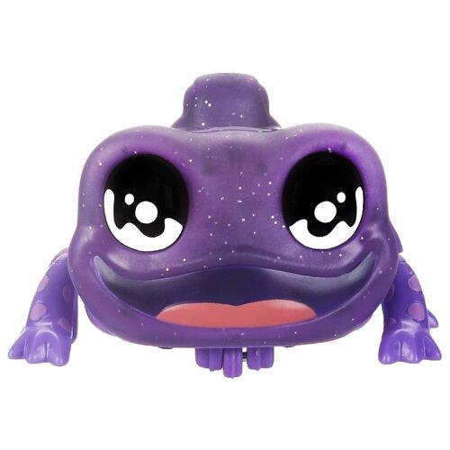 Интерактивная игрушка робот Hasbro Yellies Ящерица Scalez E6149 фиолетовый