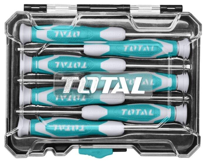 Набор отверток для точных работ Total THT250726