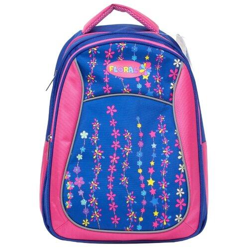 BG Рюкзак Start Floral SBS 2732 голубой/розовыйРюкзаки, ранцы<br>