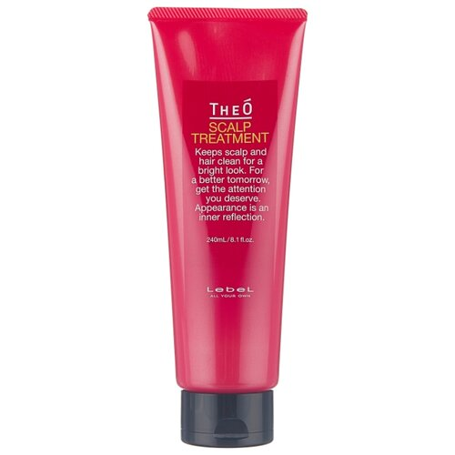 Lebel Cosmetics Крем-уход для кожи головы и волос Theo Scalp Treatment, 240 мл lebel cosmetics шампунь восстанавливающий для волос и кожи головы viege 1000 мл