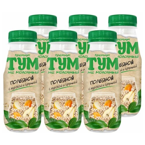 Полбяной напиток ТУМ с курагой и грушей 250 г, 6 шт.