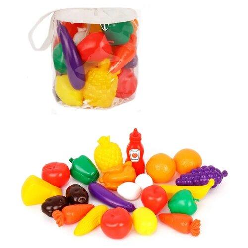 Купить Набор продуктов Green Plast НП022 разноцветный, Игрушечная еда и посуда