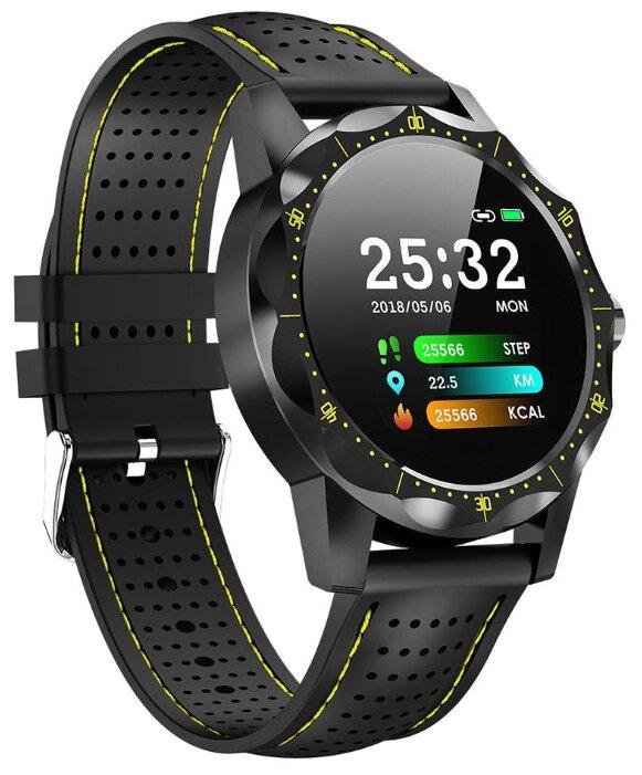 Купить Умные часы ColMi SKY1 черный/желтый по низкой цене с доставкой из Яндекс.Маркета (бывший Беру)