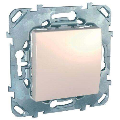 Выключатель Schneider ElectricMGU5.206.25ZD UNICA, 10 А, бежевый