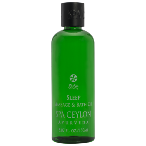 Масло для тела SPA CEYLON для ванны и массажа Спокойной ночи, бутылка, 150 мл авен масло для ванны