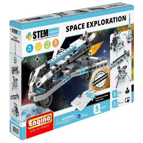 Купить Конструктор ENGINO STEM Heroes STH51 Набор из 5 моделей. Освоение космоса, Конструкторы