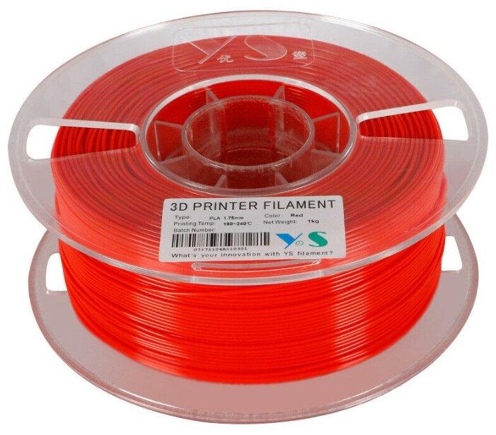 PLA пруток Yousu 1.75мм красный
