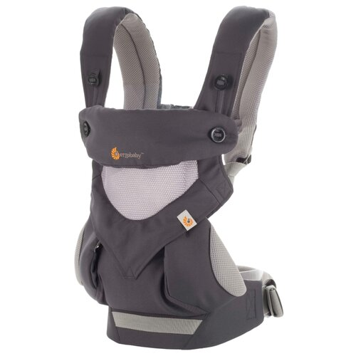 Эргорюкзак Ergobaby 360 cool air mesh carbon grey