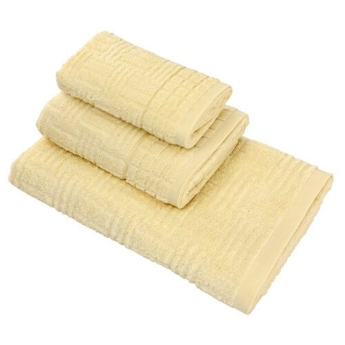 Wellness Полотенце Рим банное 70х140 см желтыйПолотенца<br>