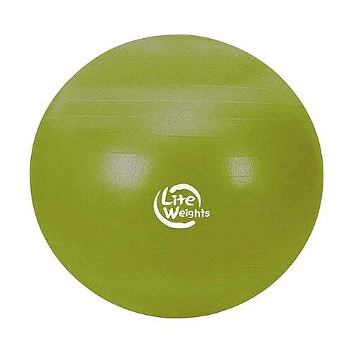Фитбол Lite Weights 1866LW, 65 см салатовыйФитболы и медболы<br>