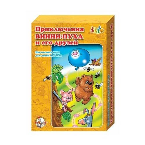 Купить Настольная игра Десятое королевство Приключения Винни-пуха и его друзей 00294, Настольные игры