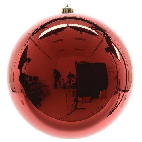 Елочный шар Kaemingk 022415/022417, красный