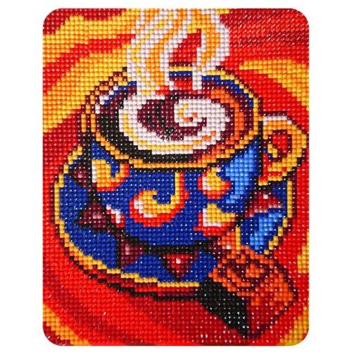 Color Kit Набор алмазной вышивки Кофейный аромат (MP011) 17х21 см