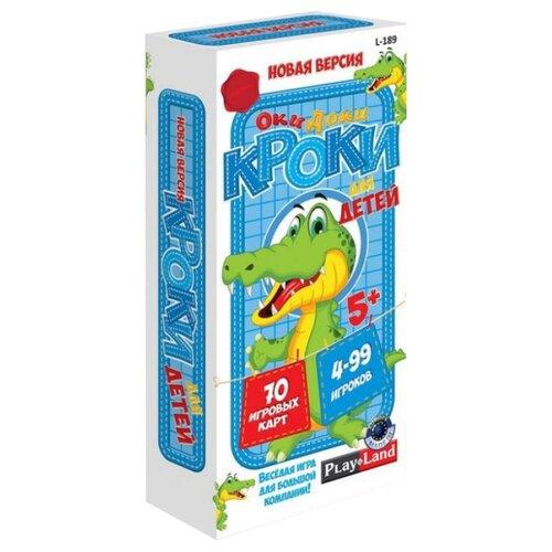 Купить Настольная игра Play Land Оки Доки Кроки для детей L-189, Настольные игры