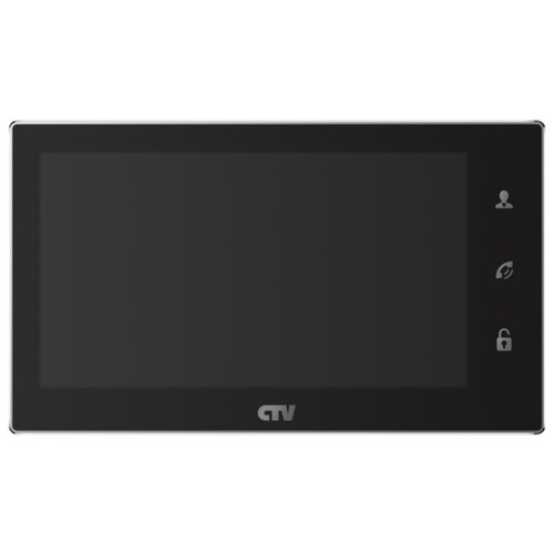 Домофон (переговорное устройство) CTV CTV-M4706AHD черный (дверная станция)