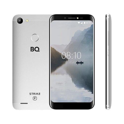 Смартфон BQ 5514G Strike Power серебряный смартфон