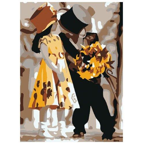 Купить Molly Картина по номерам Ухаживание 15х20 см (KH0035/1), Картины по номерам и контурам