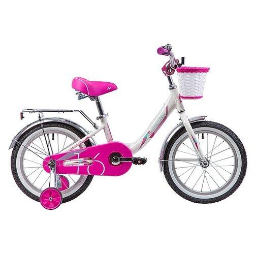 Фото - Детский велосипед Novatrack Ancona 16 (2019) белый (требует финальной сборки) детский велосипед novatrack urban 16 2019 синий требует финальной сборки
