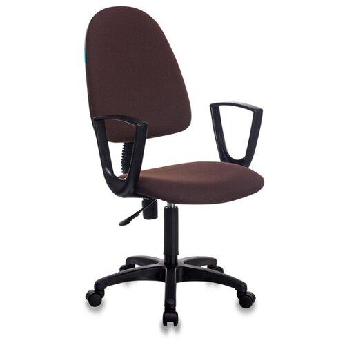 Компьютерное кресло Бюрократ CH-1300N офисное, обивка: текстиль, цвет: коричневый офисное кресло бюрократ ch 1300n