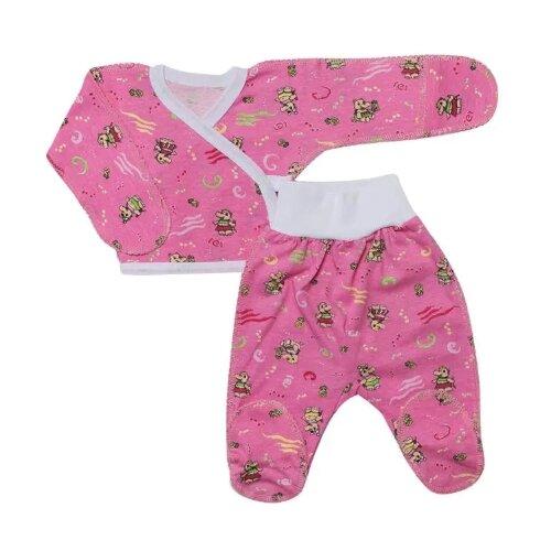 Купить Комплект одежды Клякса размер 20-62, розовый, Комплекты
