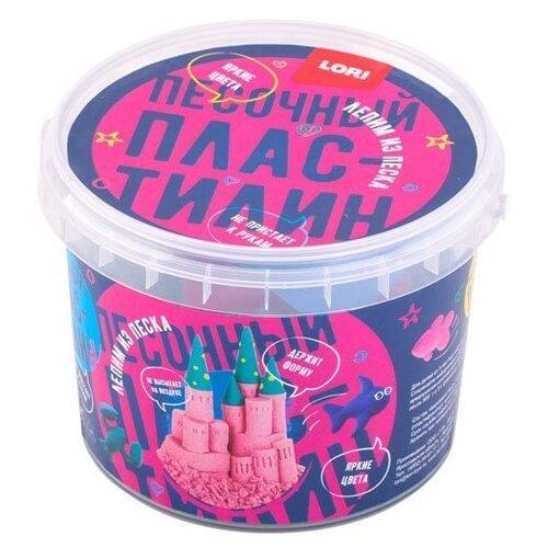 Купить Пластилин LORI Песочный пластилин Красный, 500 гр (Пп-014), Пластилин и масса для лепки