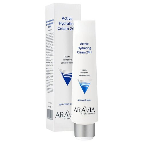 ARAVIA Professional Professional Active Hydrating Cream 24H Крем для лица активное увлажнение, 100 мл крем bakel regenerating and oxygenating 24h cream объем 50 мл вес 150 00
