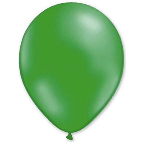 Набор воздушных шаров MILAND Металлик 31 см (100 шт.) темно-зеленый