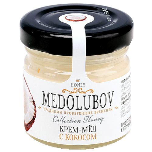 Крем-мед Medolubov с кокосом 40 мл