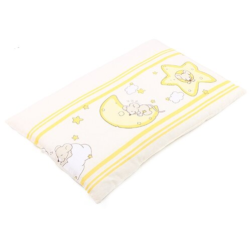 Купить Подушка Зайка Моя Мышка на облаке 40х60 см бежевый, Покрывала, подушки, одеяла
