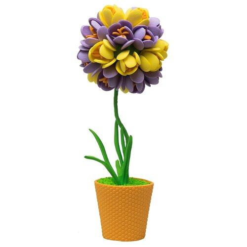 Волшебная Мастерская Набор для творчества Крокусы фиолетово-желтые (ТПМ-03)
